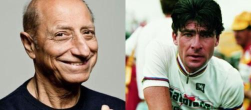 Pippo Franco e Gianni Bugno, candidati a Roma e Milano.