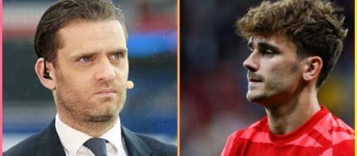 érôme Rothen s'emporte sur le cas Griezmann en équipe de France (capture YouTube et montage photo)