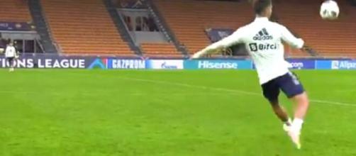 L'incroyable séance d'entrainement entre Rodri et Torres (capture YouTube)