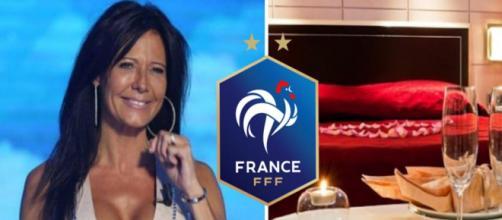 Nathalie avoue avoir reçu une proposition de la part d'un joueur des Bleus. (crédit réseaux sociaux)