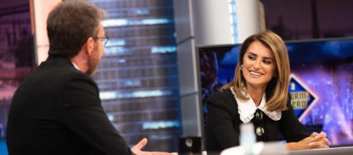 Penélope Cruz en El Hormiguero. (Antena 3)