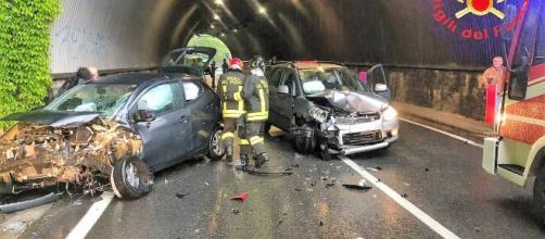Calabria, grave incidente: un morto e quattro feriti. (foto di repertorio)