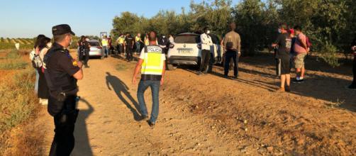 La familia de Carmona, Sevilla, fue detenida por efectivos de la Policía Nacional (CNP)