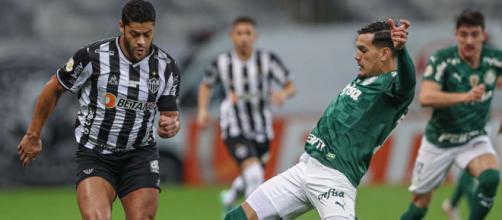 Palmeiras e Atlético-MG tropeçaram na rodada (Pedro Souza/Atlético-MG)