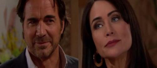 Beautiful, trame Usa: Ridge informa Quinn che farà di tutto pur di allontanarla da Eric.