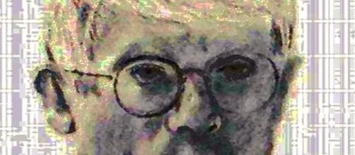 David Hockney 'Mass Media' portrait (Image source: David Lewis-Baker/Flickr)
