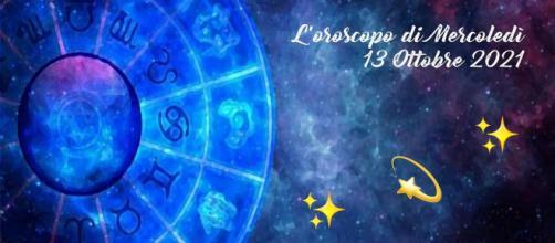 Oroscopo, previsioni della giornata di mercoledì 13 ottobre 2021