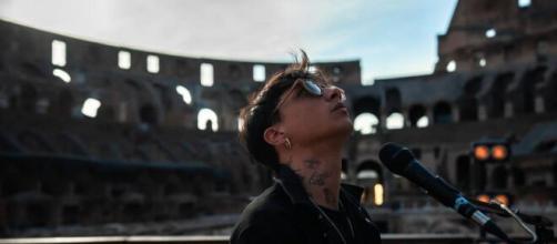 Ultimo in concerto al Colosseo.