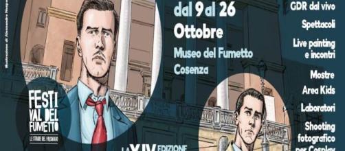 Le Strade del Paesaggio: ritorna il festival del fumetto a Cosenza.