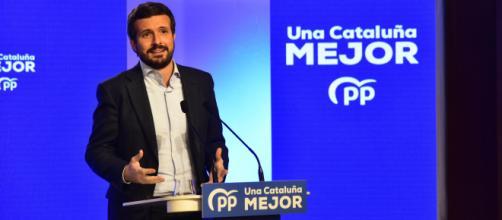 Casado ha ratificado que el PP es la mejor opción en Cataluña