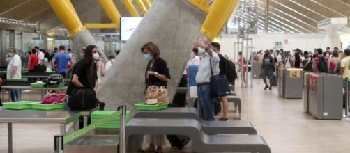 El aeropuerto de Madrid, en imagen
