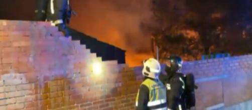 El incendio se produjo en un chalet de la localidad madrileña de Pozuelo