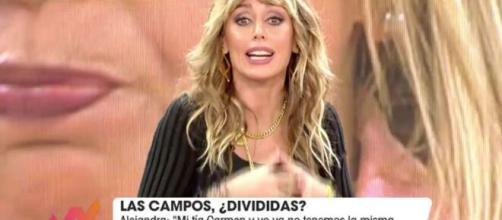 Emma García no soporta el falso vicitmismo de Carmen Borrego