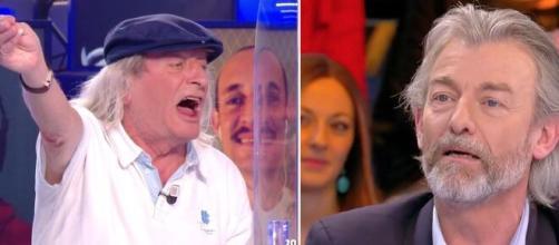 OM: 'Vas t'occuper de Loana', René Malleville et Gilles Verdez se clashent sur TPMP. Montage photo