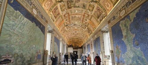 Roma, una foto dei Musei Vaticani.