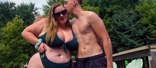 Elle pèse deux fois son poids mais ils s'aiment - ©capture d'écran Instagram