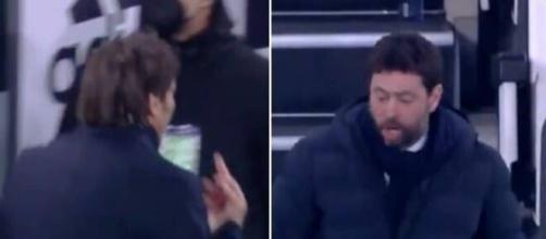 La polemica Conte-Agnelli continua a far discutere Inter e Juventus - foto di sport.virgilio.it.