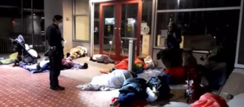 Homeless people around the world have risen due to the pandemic. ©CBS 8 San Diego YouTube video