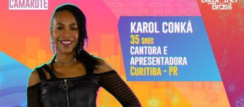 Karol Conká está no 'BBB21'. (Reprodução/TV Globo)