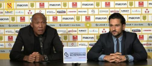 La conférence de presse incroyable d'Antoine Kombouaré - ©capture d'écran vidéo conférence de presse