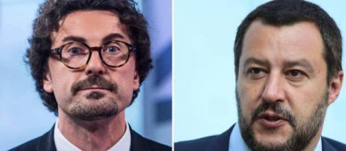 Matteo Salvini e Danilo Toninelli