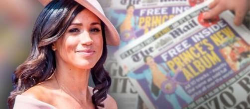 Meghan Markle gana batalla contra tabloide británico.