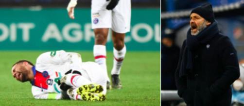 Pascal Dupraz dézingue la pleureuse Neymar - ©captures d'écran twitter et montage