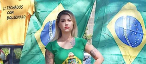 Sara Winter diz que não chamará Bolsonaro de 'mito' nunca mais. (Arquivo Blasting News)