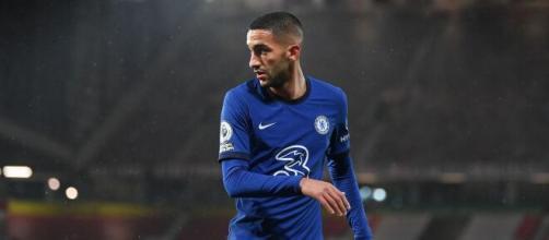 Hakim Ziyech, giocatore del Chelsea.