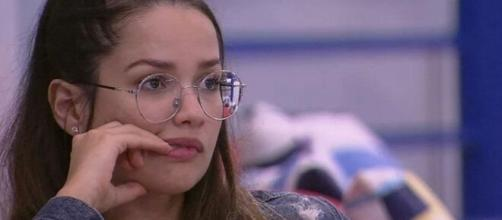 Juliette falava sobre o 'BBB21' na madrugada. (Reprodução/TV Globo)