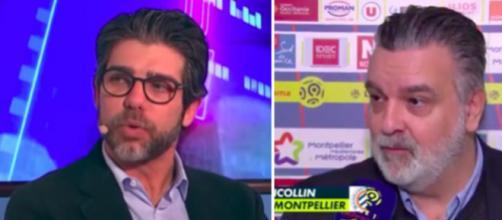 Laurent Nicollin lance le match OL - Montpellier et tacle Juninho en conférence de presse ©montage vidéo
