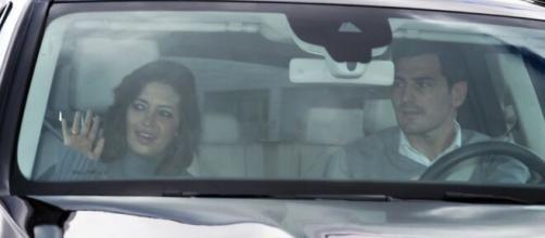 Sara Carbonero e Iker Casillas en imagen