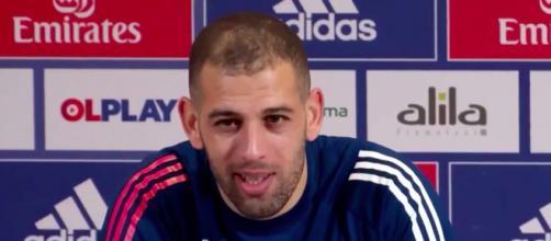 Slimani ravi du nombre d'Algériens à Lyon, Damien Rieu (RN) s'en prend à lui et à l'OL. photo capture d'écran vidéo Twitter