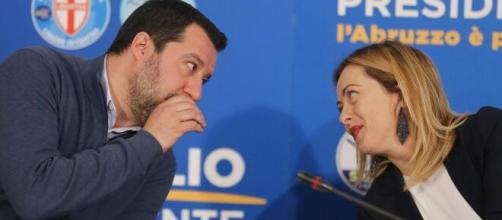 Stop allo sci, le reazioni negative di Giorgia Meloni e Matteo Salvini.