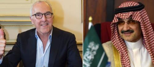 Vente OM: 'Pas de fumée sans feu', Mourad Boudjellal confirme pour le prince Ben Talal. Montage Photo
