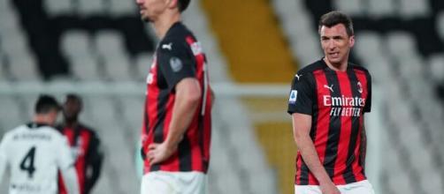 Il Milan crolla contro uno Spezia da sogno, deludono Ibrahimovic e Mandzukic, foto di twitter @acmilan