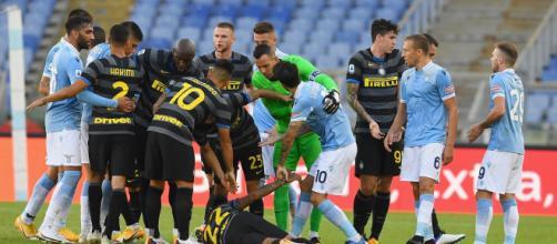 Inter-Lazio, una sfida cruciale per le prime posizioni in classifica.