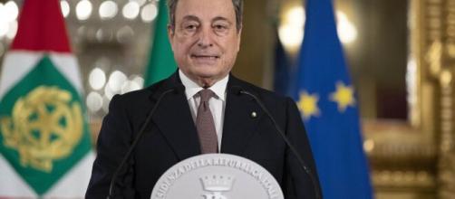 Mario Draghi presenta la lista dei ministri.