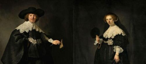 Portrait of Maerten Soolmans and Oopjen Coppit by Rembrandt. [© Taft Art Museum/Public Domain]