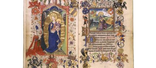 The Parisian Book of Hours is one of the brilliants manuscripts of the Rosenberg's collection ©Catharina van Kleef