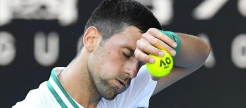Australian Open, Novak Djokovic si lamenta del trattamento subito da alcuni media.