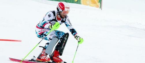 Il campione mondiale di combinata Marco Schwarz.