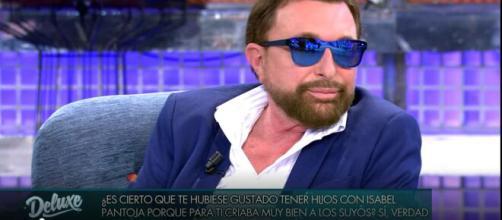 José Manuel Parada en Sálvame Deluxe en Telecinco