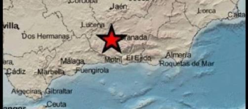 Terremoto de magnitud 3,5 en Granada