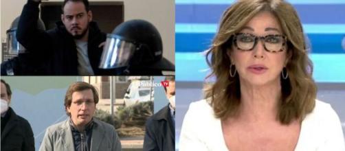 Ana Rosa y Almeida comentan la detención de pablo Hasel