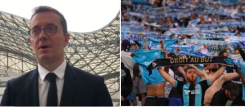 Jacques Henri Eyraud se fait détruire sur les réseaux sociaux - © capture d'écran video Youtube et photo Twitter