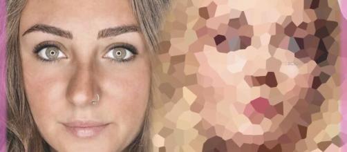 Rocío Flores en una imagen junto a su nuevo rostro