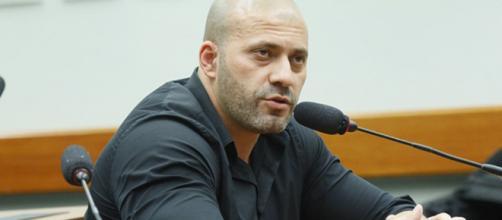 Deputado Daniel Silveira ficou preso em sala da Superintendencia da Polícia Federal. (Arquivo Basting News)