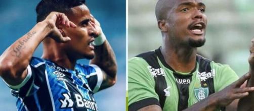 Messias pode chegar ao Grêmio, enquanto Everton pode deixar o clube. (Fotomontagem)