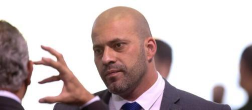 Ministro Alexandre Moraes, do STF, manda prender deputado Daniel Silveira. (Arquivo Blasting News)